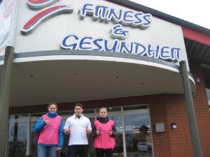 """""""Fitness und Gesundheit"""" sponsort Leibchen"""