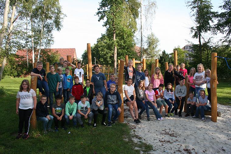 Einschulung Jahrgang fünf am Schulzentrum Hasetal 2019
